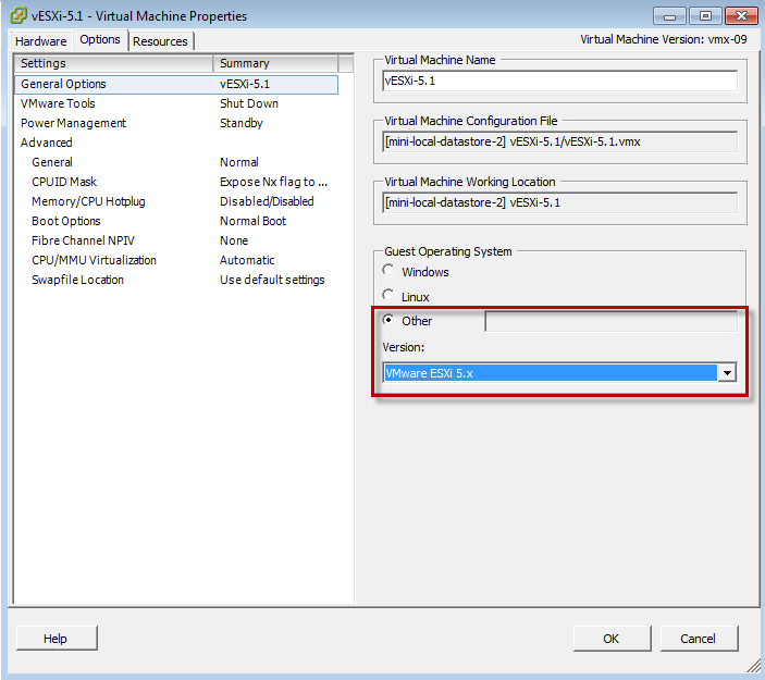How to Enable Nested ESXi & Other Hypervisors in vSphere 5 1