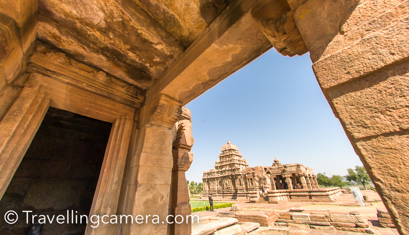 Pattadakal Temple complex is maintained by Archeological Survey of India.