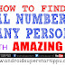 HOW TO FIND REAL NUMBER OF ANY PERSON | ANDROID SUPERSTARS
