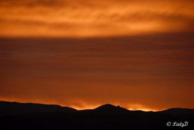 Brilliant sunrise shot