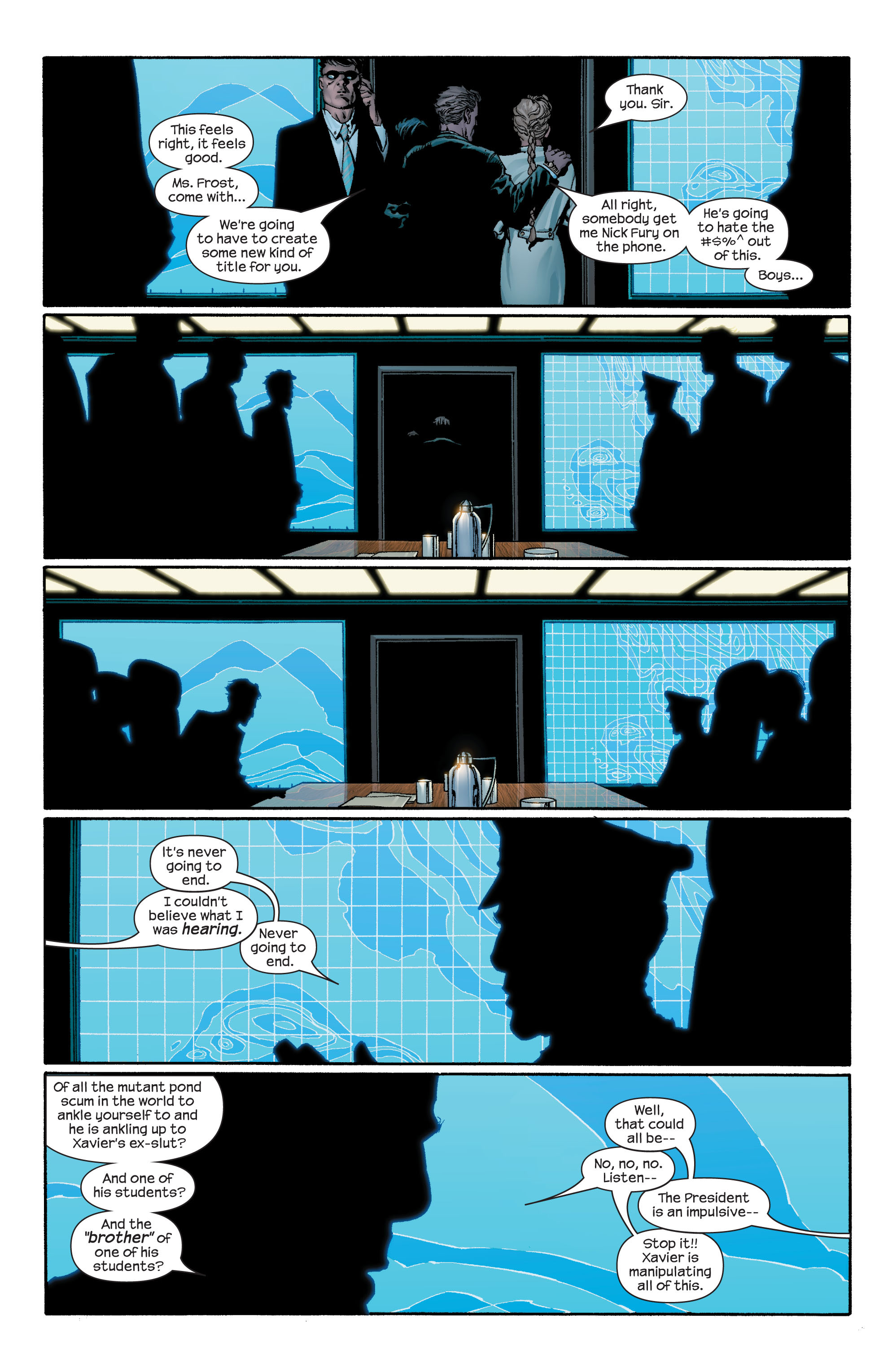 Read online Ultimate X-Men comic -  Issue #43 - 16