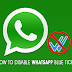 How to Disable WhatsApp Blue Ticks (Read Receipt) on Android