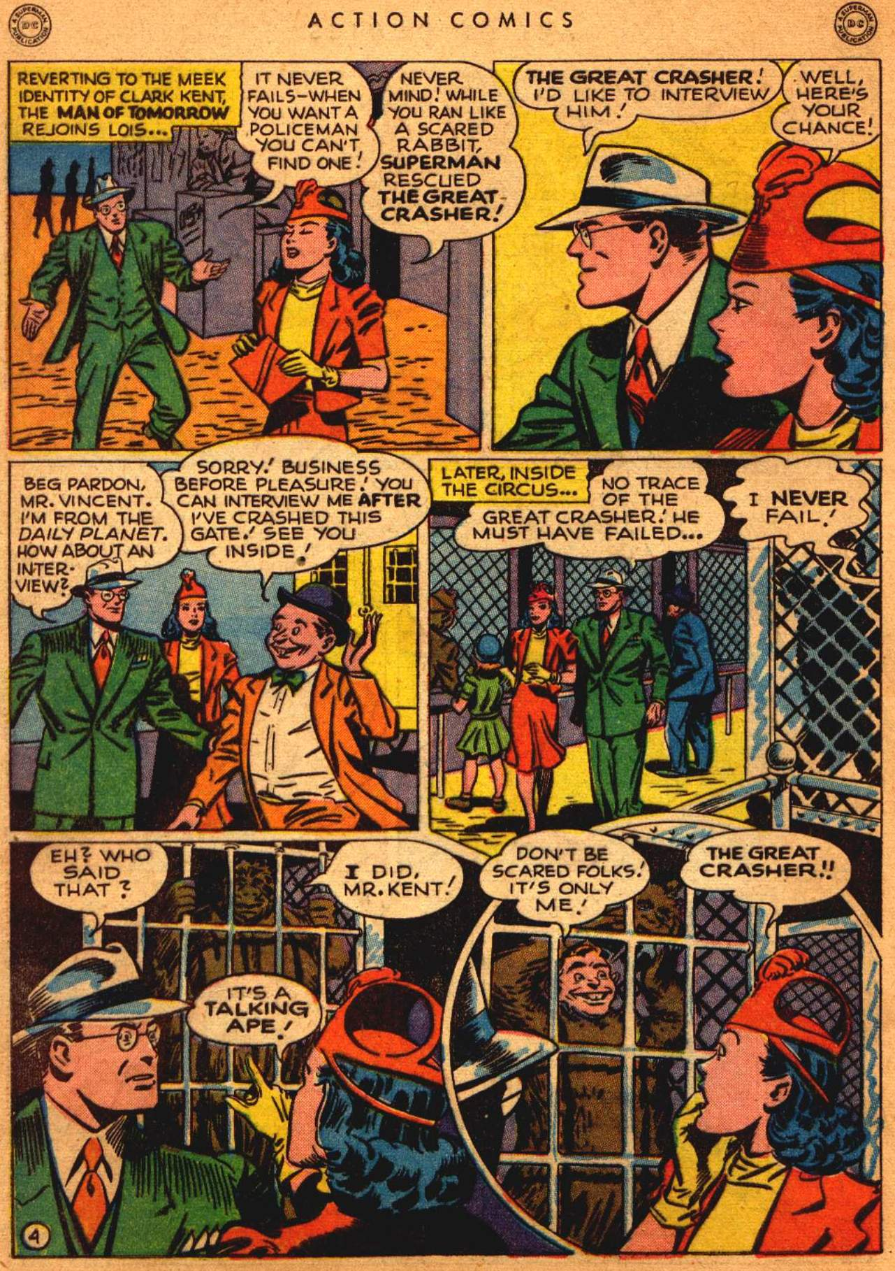Read online Action Comics (1938) comic -  Issue #108 - 5