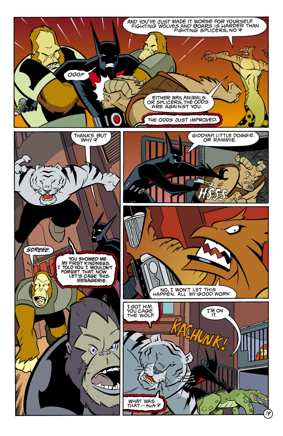 Batman Beyond [II] Issue #3 #3 - English 20
