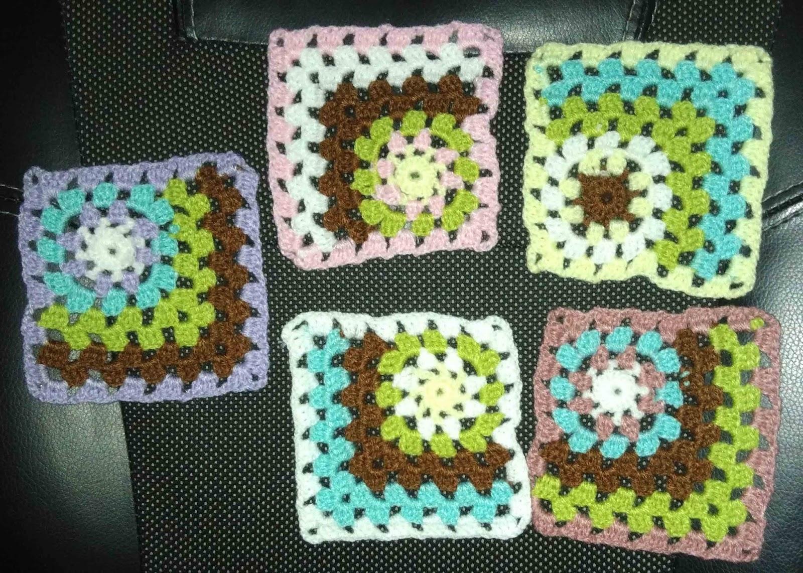 Manualidades Sencillas: Posavasos a crochet