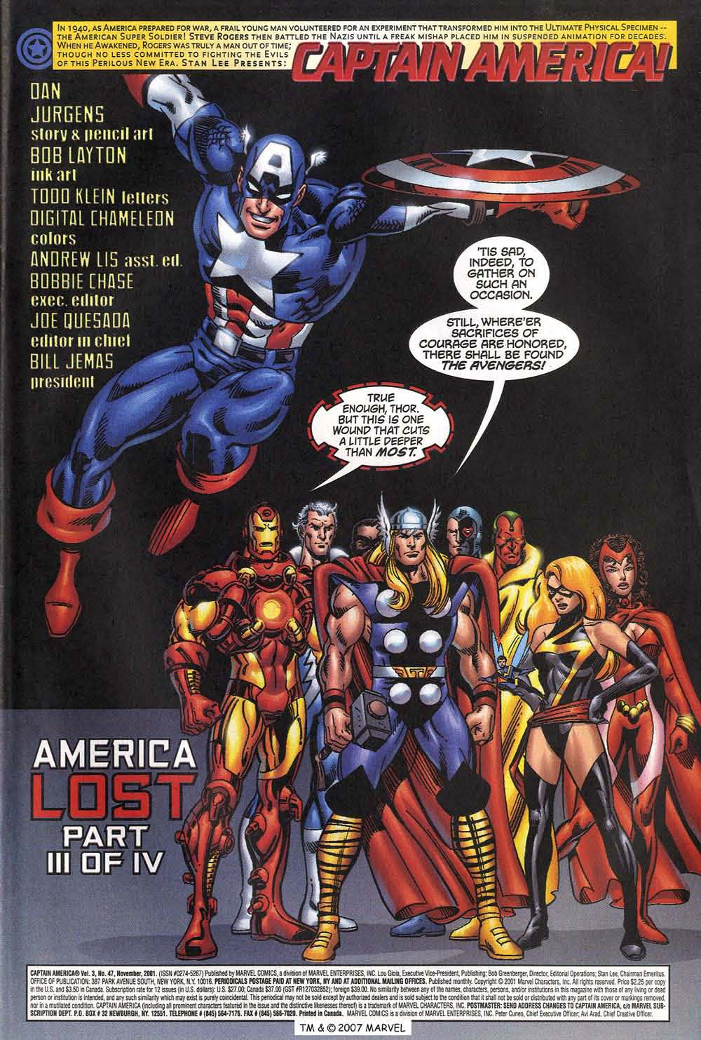 Captain America (1998) Issue #47 #54 - English 3