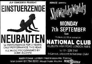 Showaddywaddy Neubauten
