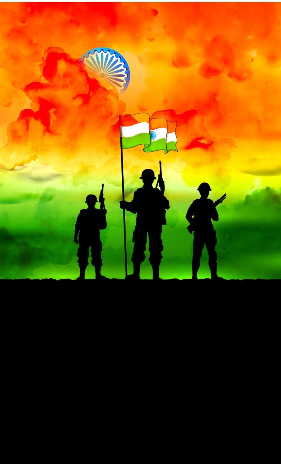 vande matram independence day hd images army