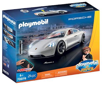 PLAYMOBIL La Película | The Movie 70078 Porsche Mission E y Rex Dasher + Módulo RC Control Remoto | Radiocontrol  Producto Oficial Película 2019 | Piezas: 24 | Edad: +6 años  COMPRAR ESTE JUGUETE