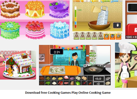 Game online cooking