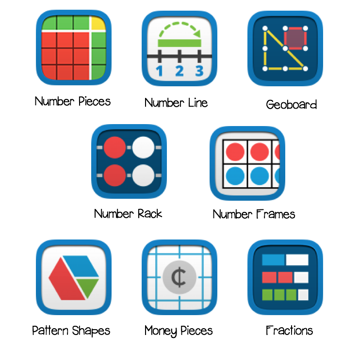 Come read about some of my favorite apps and websites for virtual manipulatives. There are free digital tools for iPads, Chromebook and computer users available in this post.