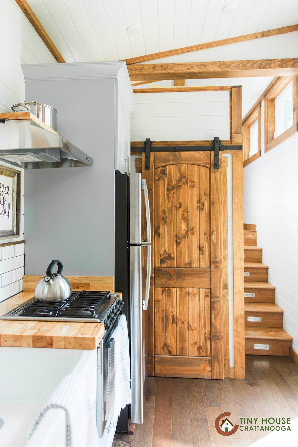 Tiny Home Designs Plans: TINY HOUSE TOWN: The Lookout V3 From Tiny House Chattanooga
