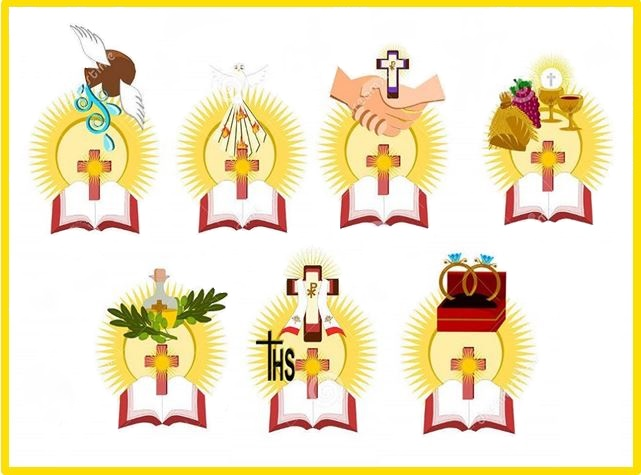 KATEKEŻI --- IS-SAGRAMENTI --- The Seven Sacraments