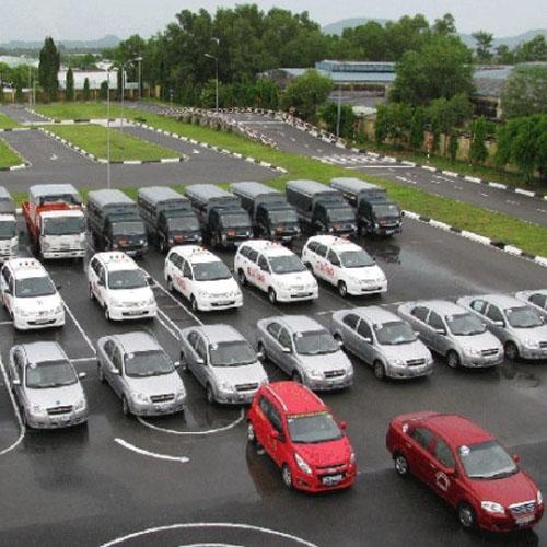 Bãi tập học lái xe ô tô