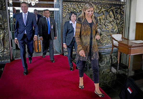 Queen Maxima visits Indonesia as United Nations Secretary-General's Special Advocate for Inclusive Finance