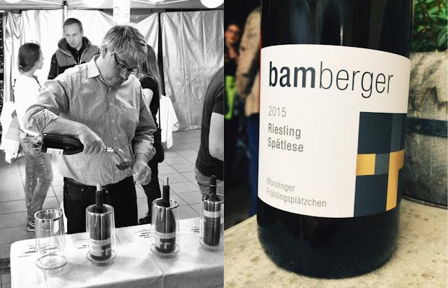 Riesling Spätlese vom Wein- und Sektgut Bamberger an der Nahe