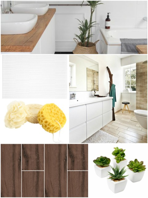 Uređenje kupaonice - plan i moodboard