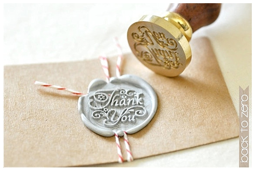 Wax Seals For Wedding Invitations: Vintage-Style Wedding Stationery Seals