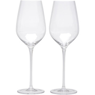 Crystal Red Wine Glasses by Bella Vino