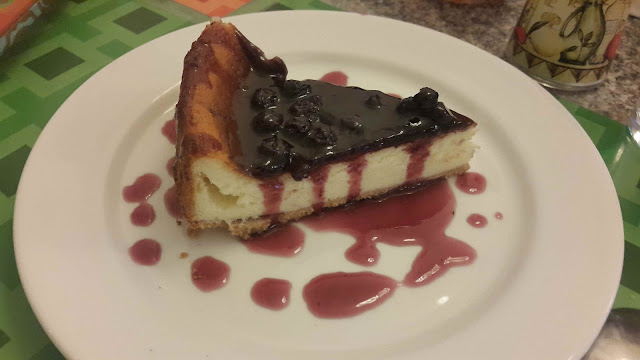 Blueberry Cheesecake at Mustard Cafe