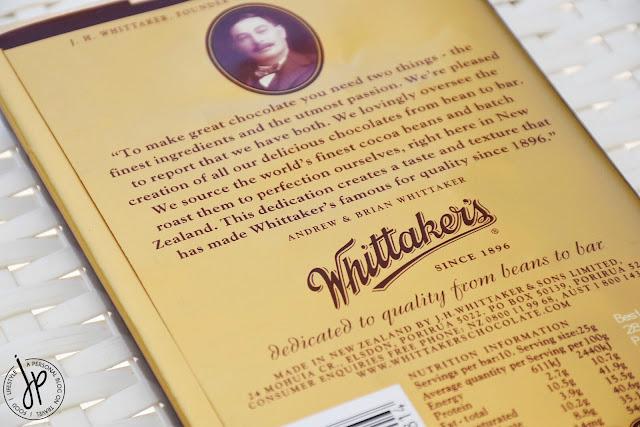 chocolate block from Whittaker's