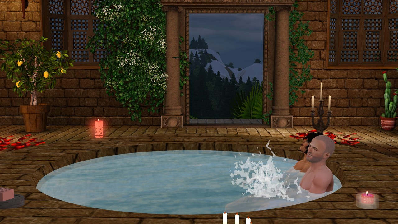 my sims 3 blog hot tub romano by galadrielh. Black Bedroom Furniture Sets. Home Design Ideas