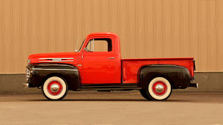 1950 Mercury M-47 Pickup Side Left