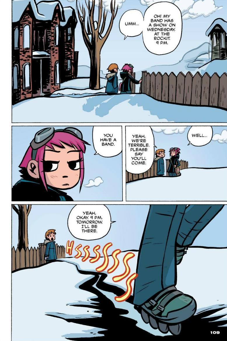 Read online Scott Pilgrim comic -  Issue #1 - 99