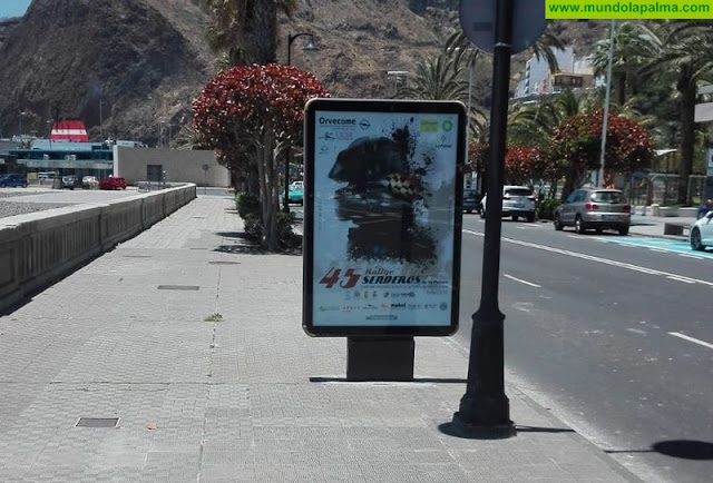 El 45 Rallye de Senderos se deja sentir en las calles y rotondas de La Palma