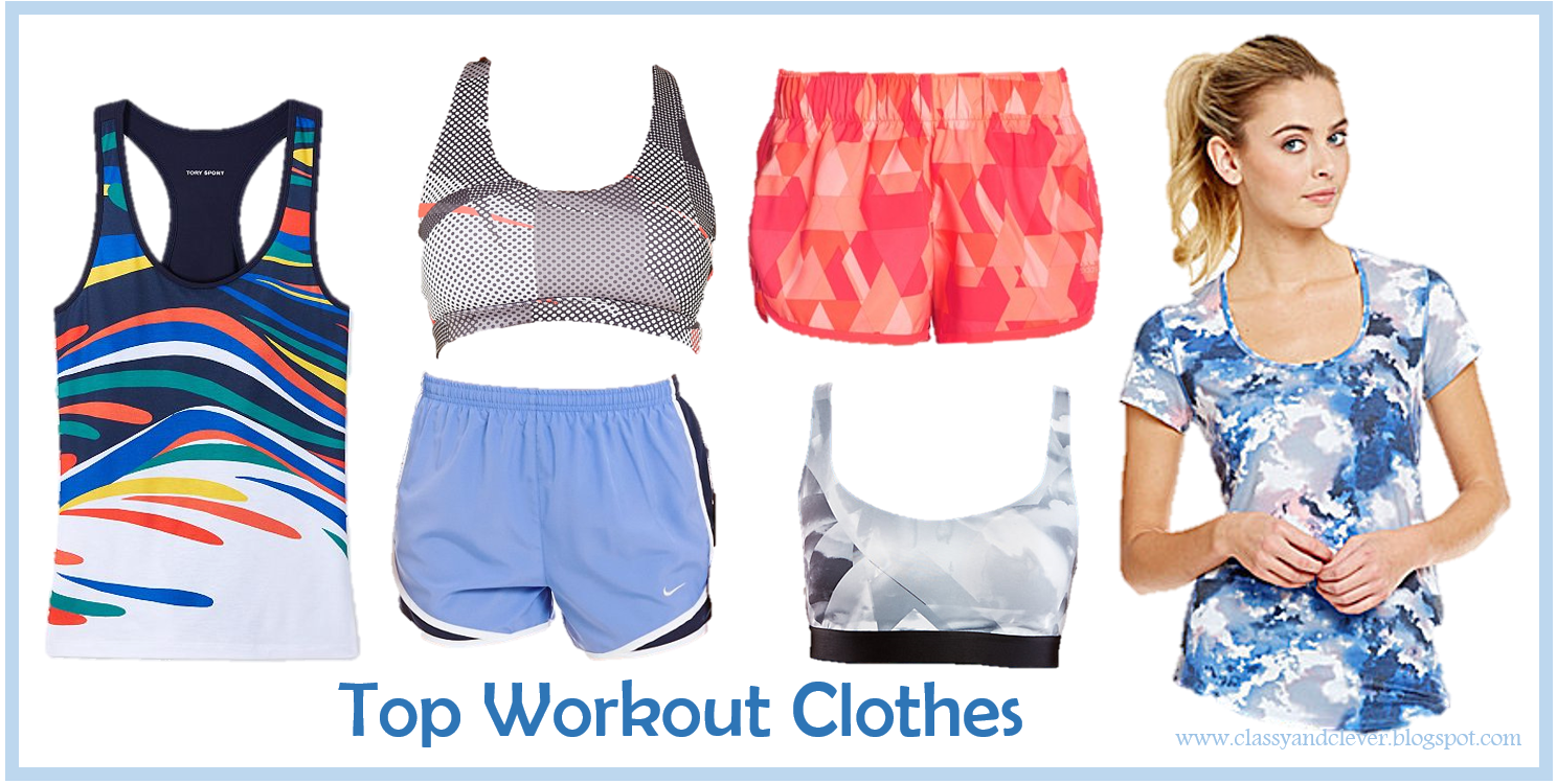 clever top workout clothes of