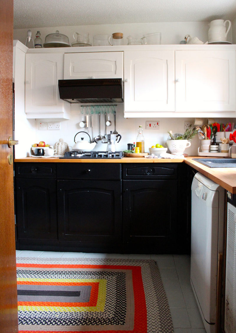 b&q kitchen makeover budget how to cupboard paint renovation