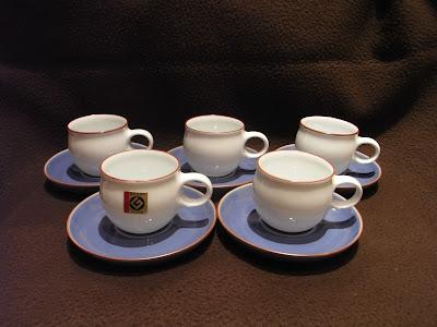 白山陶器 G型 コーヒカップ&ソーサー