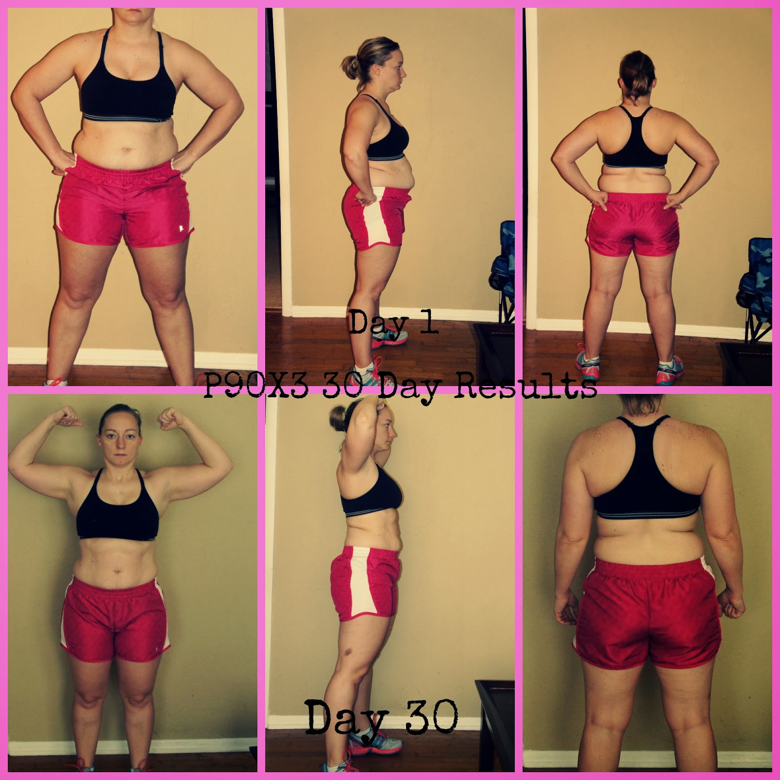 The Renaissance Woman P90x3 Journey 30 Day Results