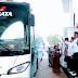 Pemberangkatan Calon Jemaah Haji Asal Subang Kloter 12 JKS Dilepas Bupati Subang