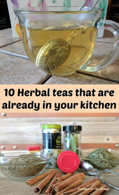 Herbal teas, kitchen spices