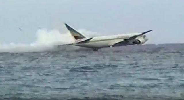 Heboh Video Pesawat Lion Air Jatuh Berkeping-keping di Laut, Ternyata HOAKS