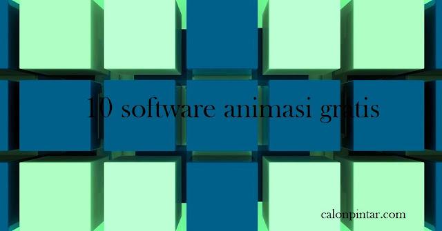 10 software animasi gratis