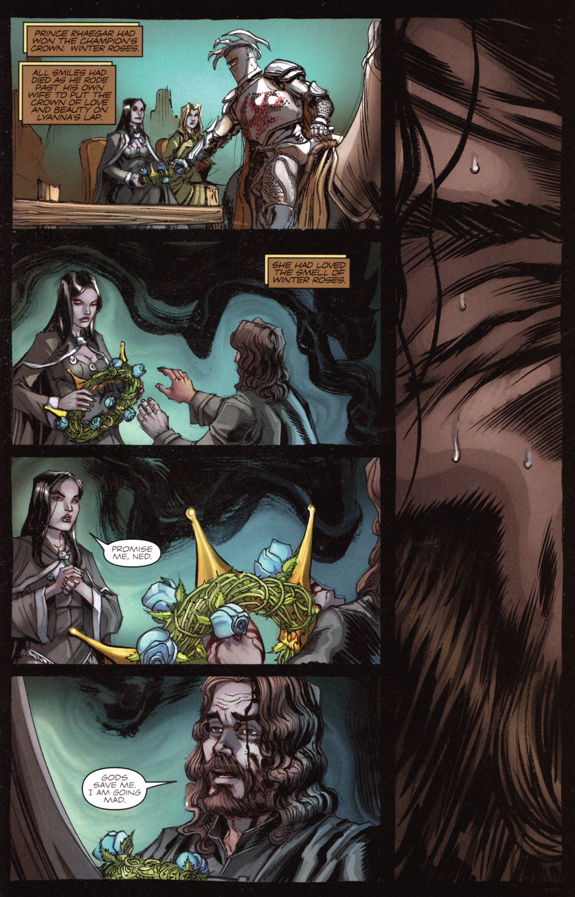 Read online A Game Of Thrones comic -  Issue #18 - 27
