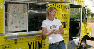 Kristina Kern, founder of Stella's PopKern food truck in Washington, DC