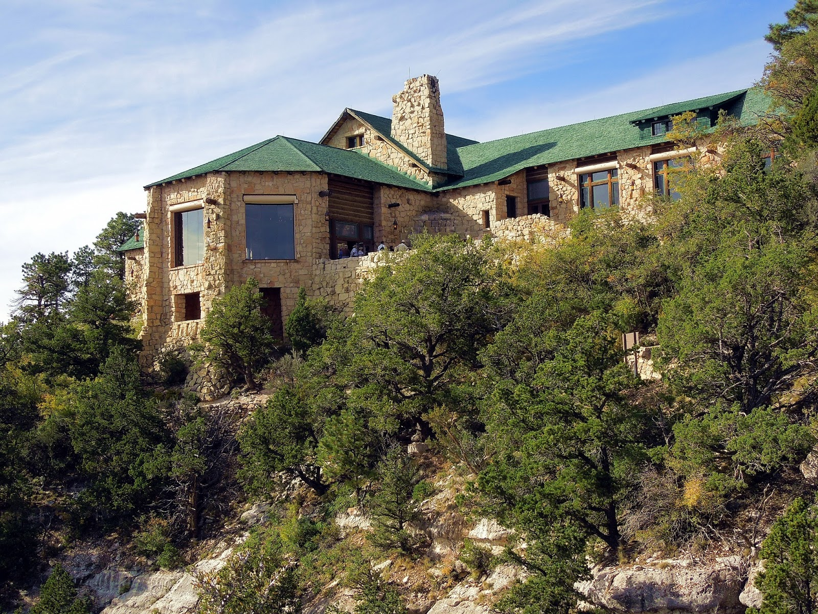 grand north cabins frontier photo in stock rim canyon lodge