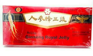 Jual Ginseng Royal Jelly (Renshen Feng Wang Jiang) di Surabaya