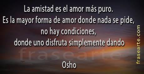 Frases de amor y amistad - Osho