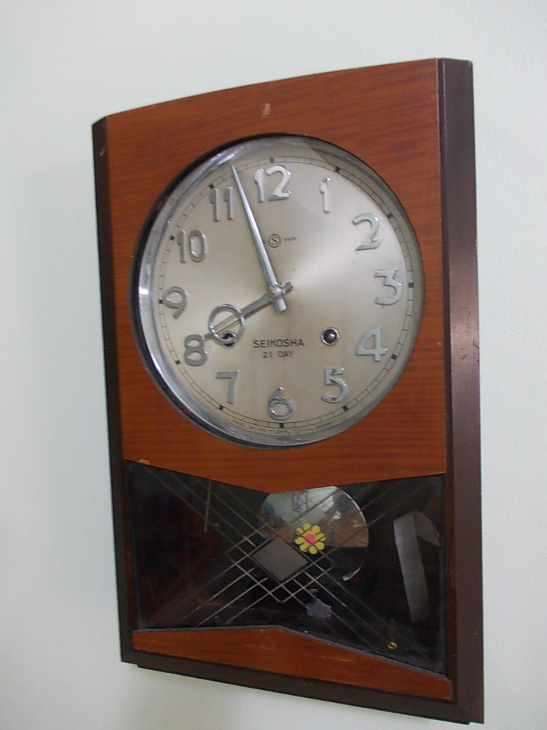 Vintage Watches Seikosha Wall Clock Rm650