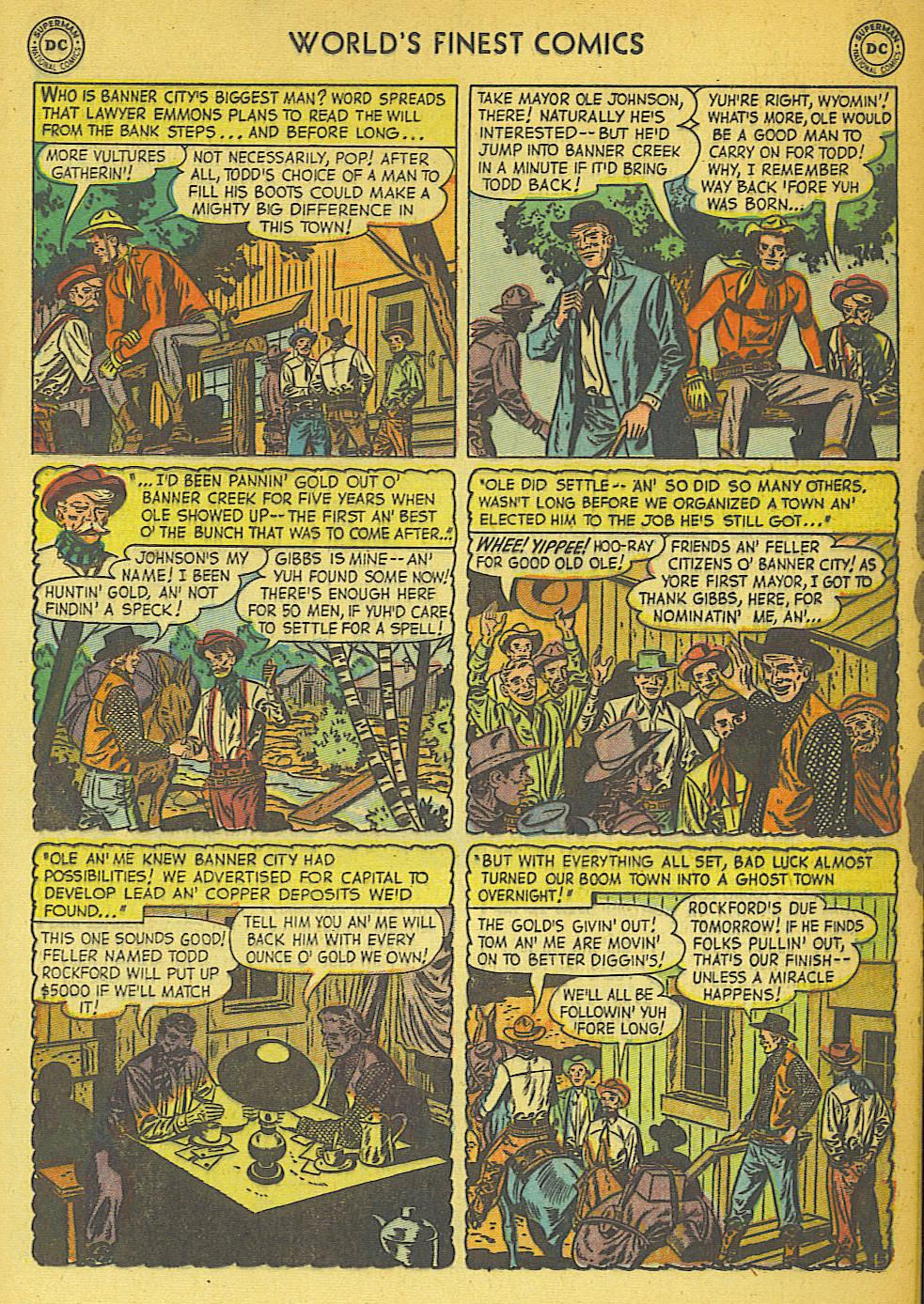 Read online World's Finest Comics comic -  Issue #57 - 33