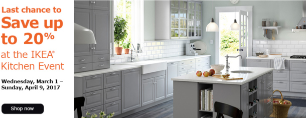 Good DETAILS: Offer Valid March 1 U2013 April 9, 2017 For IKEA FAMILY Members.  Includes SEKTION Cabinet Frames, Fronts, Drawers, Shelves, Cover Panels,  Molding, ...