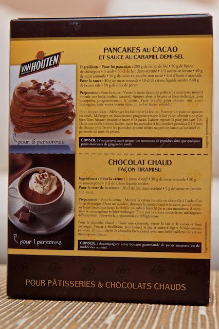 Van Houten - Cacao - Cacao poudre non sucré - Dessert - Chocolat - Hot chocolate