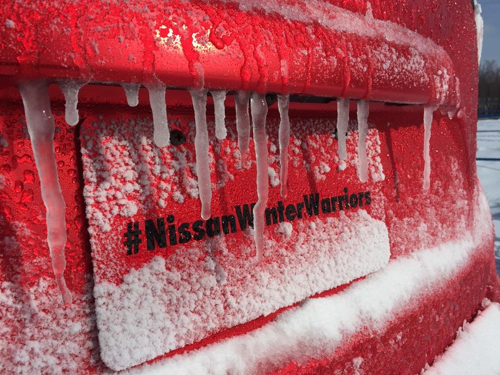 nissan winter warriors 61 rs H Nissan μας αποκαλύπτει τρεις πολεμικές μηχανές του χειμώνα Nissan, Nissan Murano, Nissan Pathfinder, Nissan Rogue, Nissan X-trail, SUV, videos