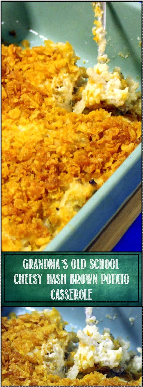 52 Ways To Cook Grandma S Cheesy Quot Old School Quot Hash Brown