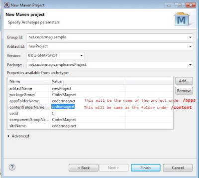 How to Build AEM project in Eclipse using AEM Archetype