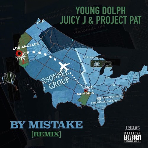 """Young Dolph Recruits Juicy J & Project Pat for """"By Mistake"""" Remix"""